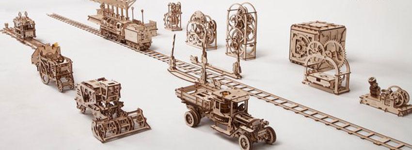 Механические 3D пазлы