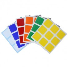 Наклейки для кубика рубика MoYu YJ